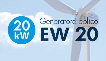 Turbine mini eoliche da 20 kW
