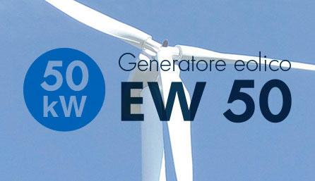 Turbine mini eoliche da 50 kW