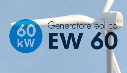 Turbine mini eoliche da 60 kW