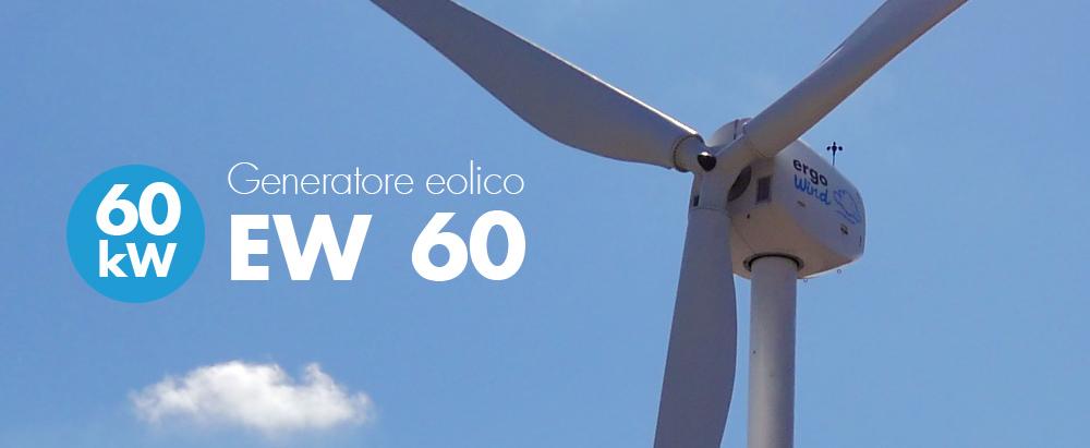 Mini eolico 60 kW