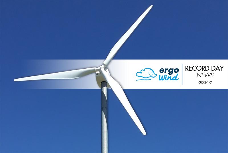 Il giugno di Ergo Wind: dati, news e statistiche