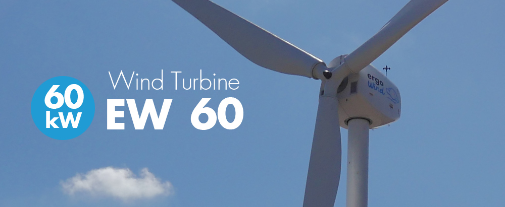 60 kW wind turbine