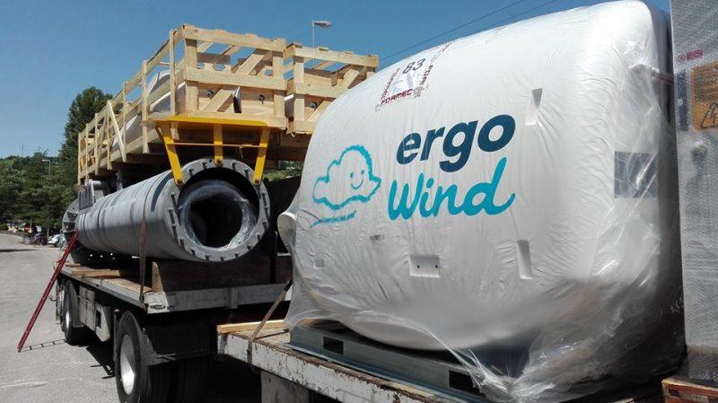 Mini eolico Ergo Wind - Carico