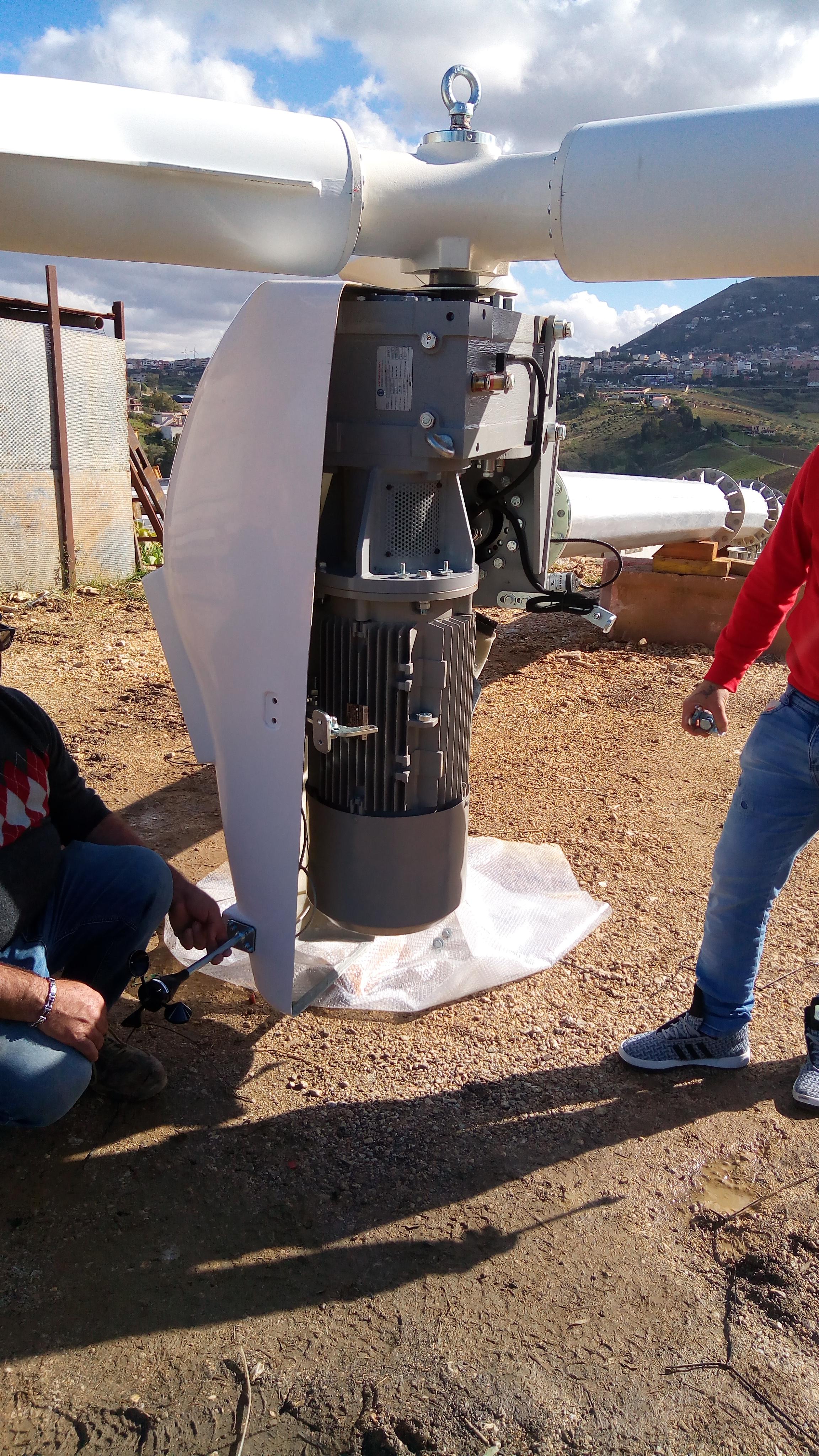 Revamping Ergo Wind istallato a Alcamo
